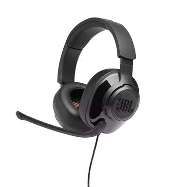 JBL Quantum 300 fekete vezetékes gamer fejhallgató