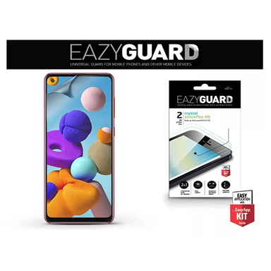 EazyGuard LA-1655 Samsung A21s Crystal/Antireflex HD 2db kijelzővédő fólia