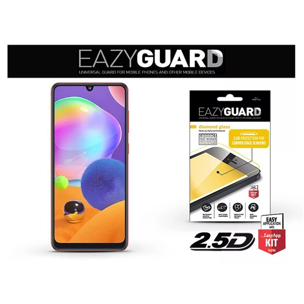 EazyGuard LA-1670 2.5D Samsung A31 kijelzővédő üveg