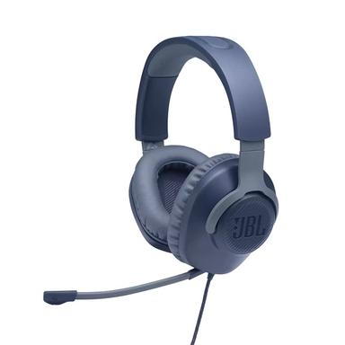 JBL Quantum 100 kék vezetékes gamer fejhallgató