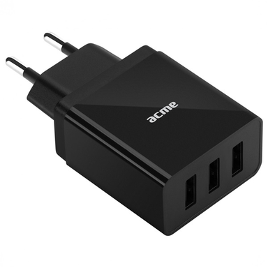 ACME CH206 3.4A univerzális 3x USB hálózati töltő